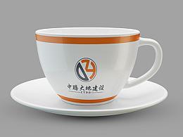 中腾大地建设工程有限公司标志设计logo