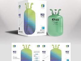 制冷液 工业包装设计
