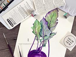 小花的水彩~紫嫣狂想~