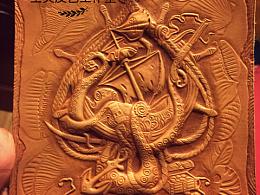 皮雕皮艺—海盗船
