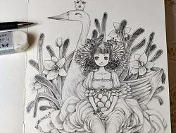 我的涂鸦本—坚持每日一手绘小图