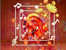 C4D作品《梵高的耳朵》