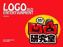 疯狂了一年的娱乐栏目logo~来自橘子娱乐 站酷