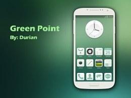 Green Point 手机主题练习