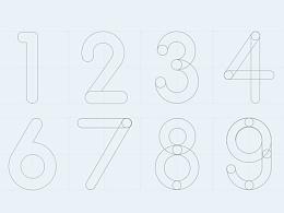以圆为灵感数字设计