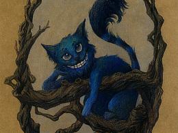 爱丽丝梦游仙境插图