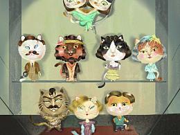 喵生百态 舞台上的猫