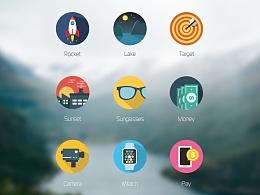 【练习】icons