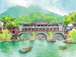 《你好!中国》水彩绘本(已出版)