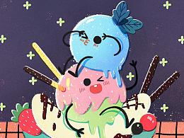 百词斩蛋糕英语②冰淇淋球