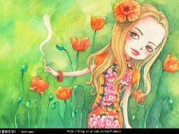 《爱绘生活》作品欣赏--sunflower