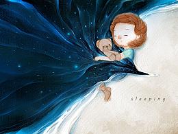《HAYLEY》--《海莉》--蓝水晶浅滩--绘本项目前期设定