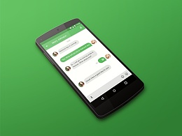 Wechat of Material Design