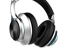 頭戴式金屬耳機設計