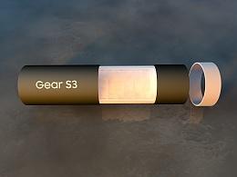 三星Gear S3包装设计