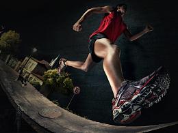 运动健身详情页/跑步