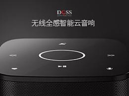 DOSS无线全感智能云音响众筹页