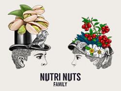 纳斯一家 品牌包装插画设计