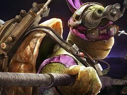 手绘忍者神龟——多纳泰罗