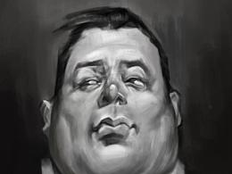 胖子头像习作