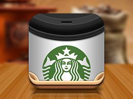 UI写实图标:星巴克咖啡