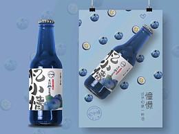 忆小情~水果酒青春版品牌系统设计-博邦2021作品