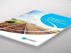 企业集团介绍商务画册模板