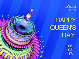 happy queen's day
