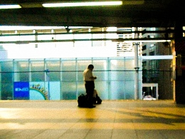 东京的站台