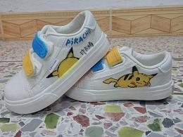 给自己宝宝手绘鞋子