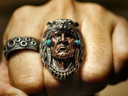 Vulcan·伏尔甘 印第安系列之【勇士】戒指