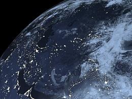 C4D创建地球模仿练习