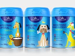 GARTER 宠物奶粉包装系列延展