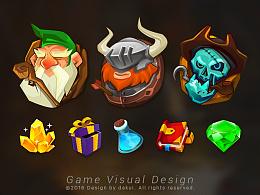 Mobile Game Visual Design 大盔作品