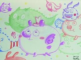 彩铅手绘练习《7,8月合集》