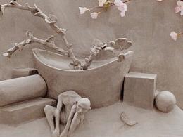 surrealism浮雕 圆雕