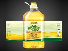 食用油产品包装