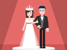 创意婚礼动画之相亲勇士300次