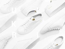 某品牌《论经典,非黑即白》系列小白鞋平面拍摄&产品页面制作/Desgined by 武减武