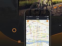 运动app项目ui设计,风风火火又一年