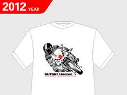 豪爵铃木T恤创意设计