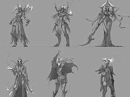 【原創】在Trion Worlds時期的設計 為原公司RIFT游戏设计的角色