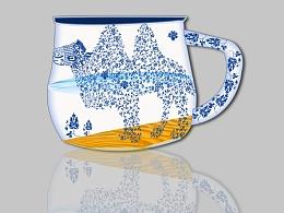 传统图案运用与制作——青花瓷