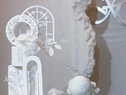 【庭花揽月】白色系婚礼蛋糕