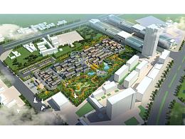 蒲城县云麾路商业步行街规划设计