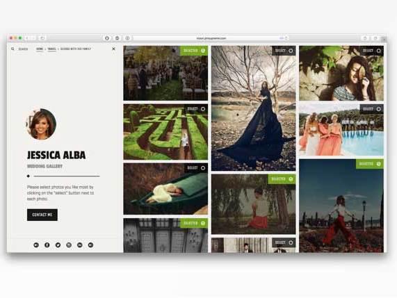 摄影师图片类摄影网站 超炫设计 h5图片