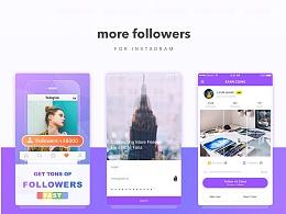 More followers/UI设计/UI界面设计