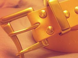 意大利植鞣革手工皮带|英国黄铜消防快脱扣