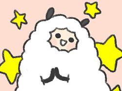羊驼棉花君--微信表情设计