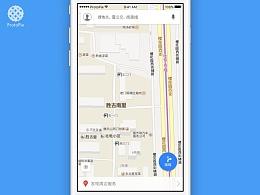 【ProtoPie】 百度地图交互练习